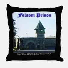 Folsom Prison Throw Pillow