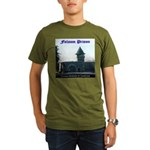 Folsom Prison Organic Men's T-Shirt (dark)