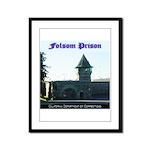 Folsom Prison Framed Panel Print