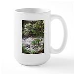 Waterfall run off Large Mug