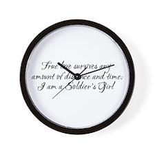 True Love Survives Wall Clock