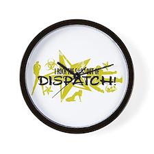 I ROCK THE S#%! - DISPATCH Wall Clock