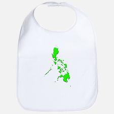 Pinoy Map - Green Bib