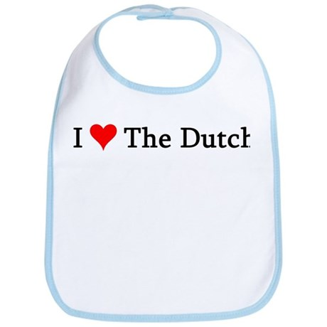 I Love The Dutch Bib