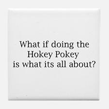 Hokey Pokey Tile Coaster