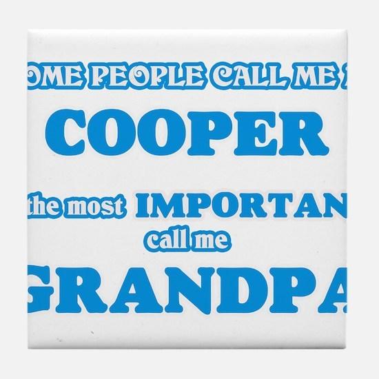 Some call me a Cooper, the most impor Tile Coaster