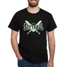 SOFTBALL *1* {green} T-Shirt