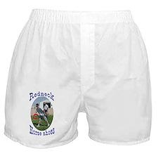 redneck horseshoe pitching Boxer Shorts