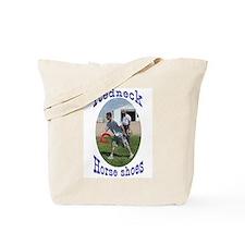 redneck horseshoe pitching Tote Bag