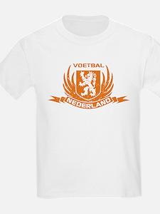 Voetbal Nederland Crest T-Shirt