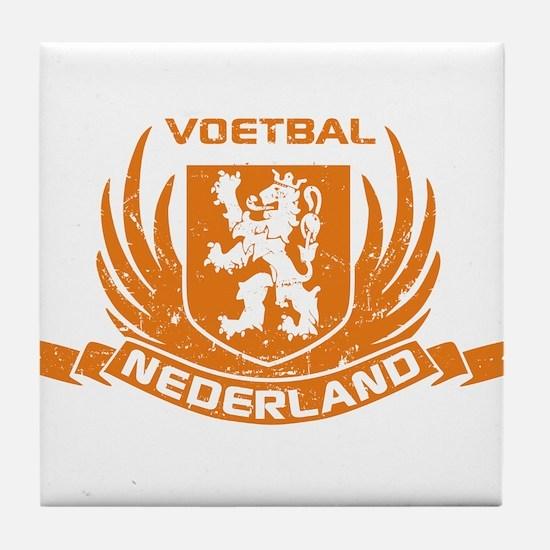 Voetbal Nederland Crest Tile Coaster