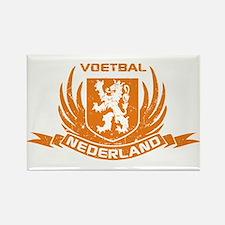 Voetbal Nederland Crest Rectangle Magnet