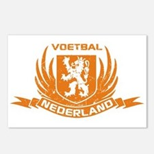 Voetbal Nederland Crest Postcards (Package of 8)