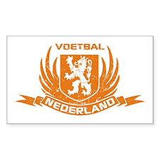Voetbal Nederland Crest Decal