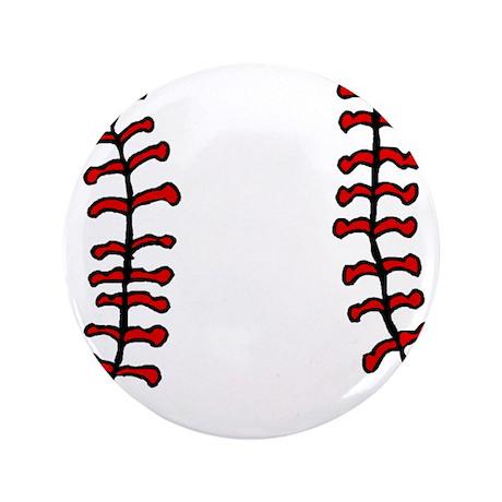"""BASEBALL *14* 3.5"""" Button (100 pack)"""