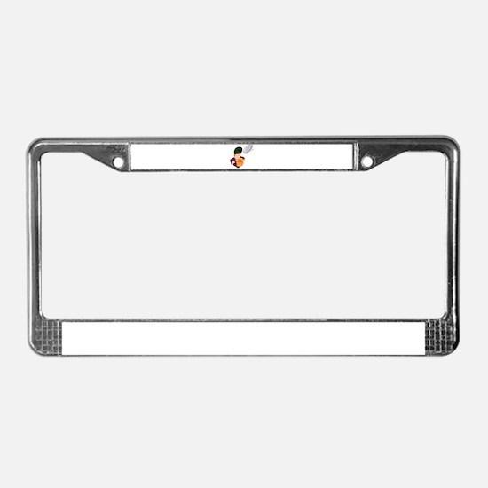 FLY BALL! *1* License Plate Frame