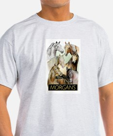 Morgan Portraits Organic Women's Fitted T-Shirt