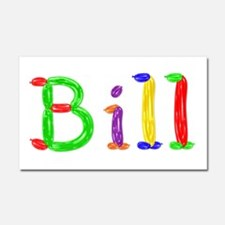 Bill Balloons 20x12 Car Magnet