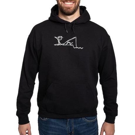 Lazing Fisherman Hoodie (dark)