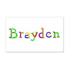 Brayden Balloons 20x12 Wall Peel