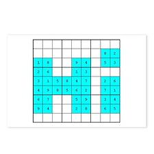 sudoku 'hi' Postcards (Pack of 8)