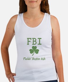 Funny Boston Irish Women's Tank Top
