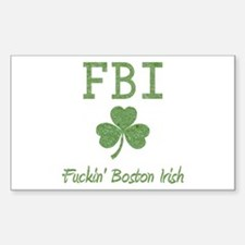 Funny Boston Irish Decal