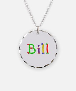 Bill Balloons Necklace Circle Charm