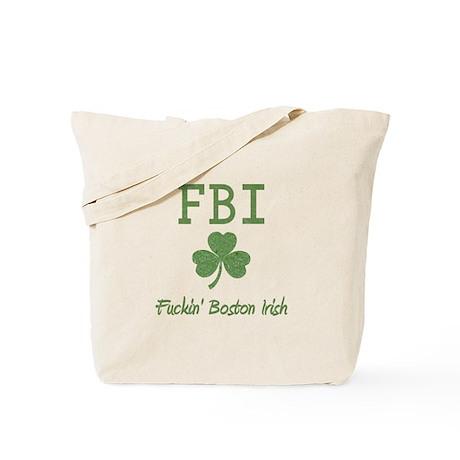 Funny Boston Irish Tote Bag