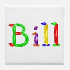 Bill Balloons Tile Coaster