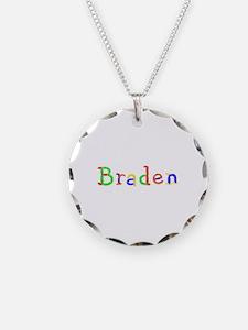 Braden Balloons Necklace Circle Charm