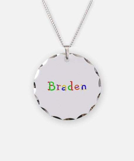 Braden Balloons Necklace Circle Charm