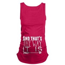 dog tag tee Maternity T-Shirt