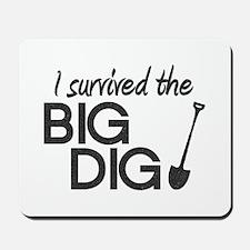 I Survived the Big Dig Mousepad