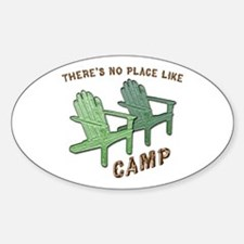 No Place Like Camp - Decal