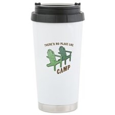 No Place Like Camp - Travel Mug