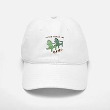 No Place Like Camp - Baseball Baseball Cap