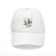 No Place Like Camp - Baseball Cap
