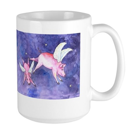 Flying Pigs Large Mug