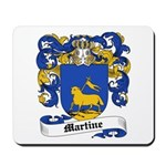 Martine Coat of Arms Mousepad