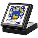 Martine Coat of Arms Keepsake Box