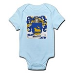 Martine Coat of Arms Infant Creeper