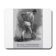 He Was Unorthodox - Tennis Mousemat