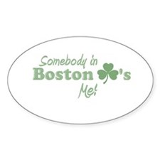 Somebody in Boston Decal