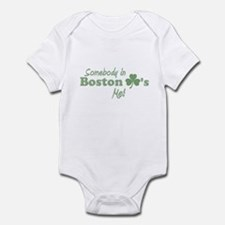Somebody in Boston Infant Bodysuit