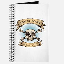 Unique Bocceball Journal