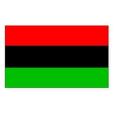 African American Flag Decal