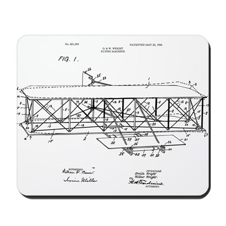 Wright Flyer Mousepad