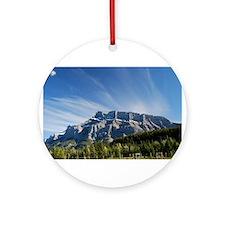 Majestic Mountain Ornament (Round)