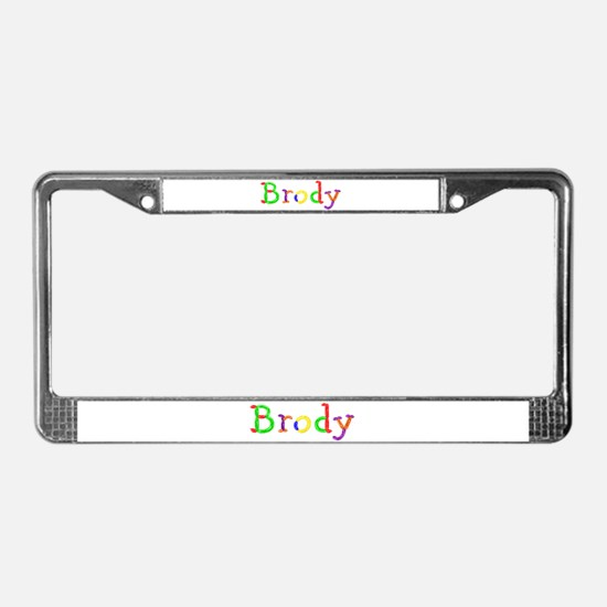 Brody Balloons License Plate Frame